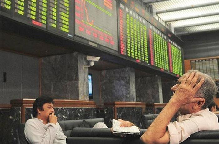 اسٹاک ایکسچینج: کاروبار کا اختتام سال کی کم ترین سطح پر ہوا