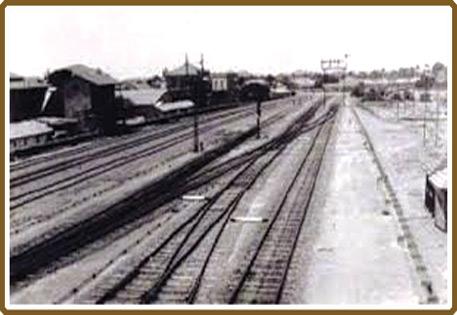''ماضی میں کراچی میں بنائی جانے والی چند سڑکیں اور ریلوے ٹریک''