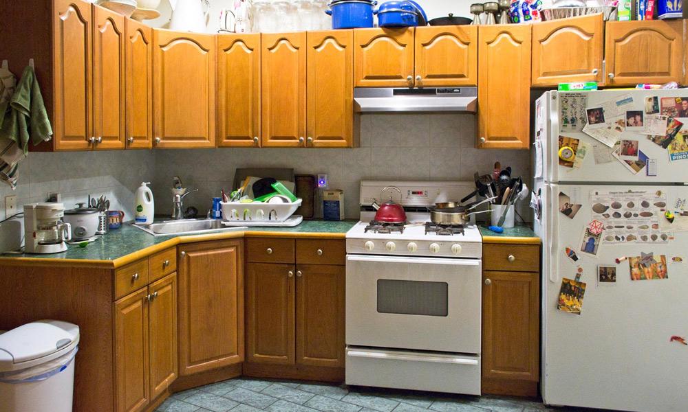 باورچی خانے کو صاف اور منظم رکھیں