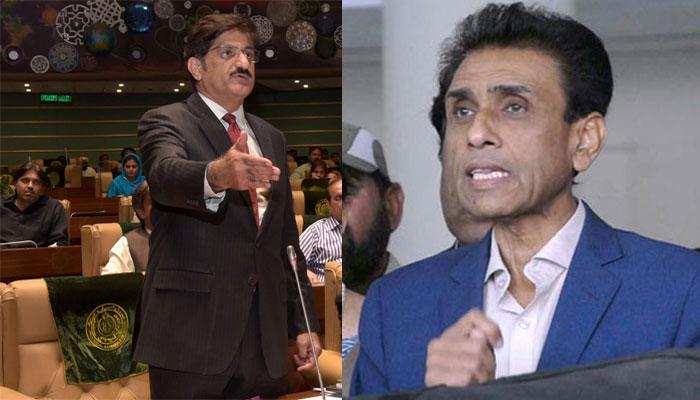 وزیراعلیٰ سندھ کی خالد مقبول پر کڑی تنقید