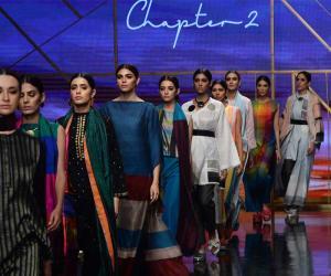 رنگ برنگےشوخ ملبوسات،فیشن کے جدید انداز