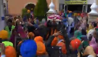 France Sikh Community Celebrating Baisakhi Festival