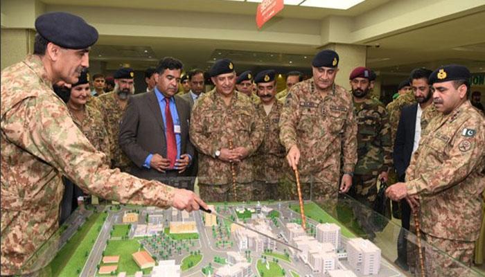 سی ایم ایچ راولپنڈی کے نئے بلاک کا افتتاح