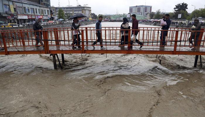 افغانستان: سیلابی صورتحال،5 افرادہلاک،17 لاپتہ