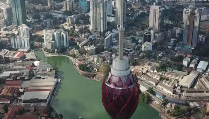 کولمبو:بلند ترین ٹاورتکمیل کے آخری مراحل میں