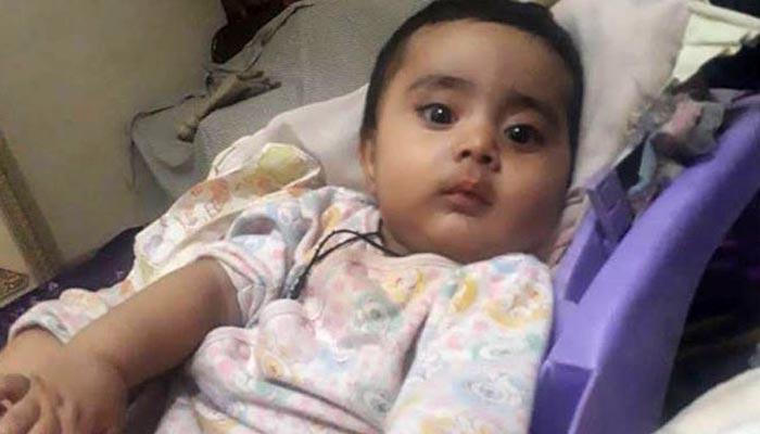 ڈیڑھ سالہ احسن کی ہلاکت: تفتیش ڈی آئی جی سی ٹی ڈی کے سپرد