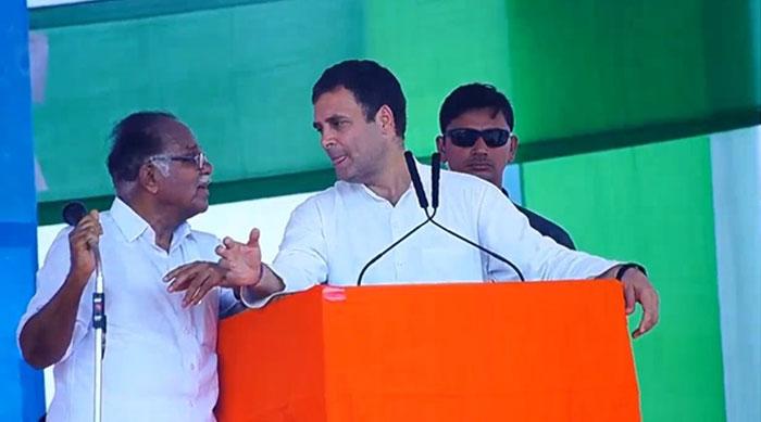 راہول گاندھی کی تقریر کا مترجم کی وجہ سے مذاق بن گیا