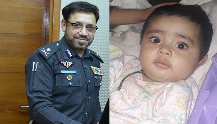 ڈیڑھ سالہ بچے کی ہلاکت، آئی جی سندھ نے معافی مانگ لی