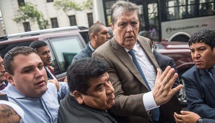 پیرو کے سابق صدر نے گولی مار کر خودکشی کرلی