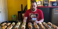 Most Hot Dogs Eaten In Three Minutes Guinness World Records