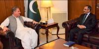 Shah Mahmood Qureshi Meets Sohail Mahmood