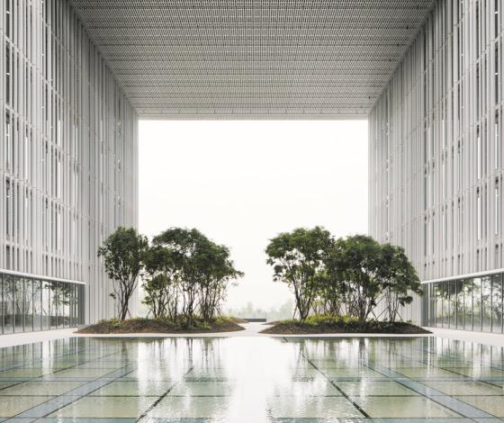 سیئول کی نئی فلک بوس عمارتیں