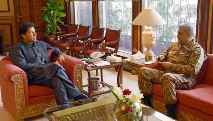 وزیراعظم سے آرمی چیف کی ملاقات