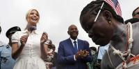 Ivanka Trump Seen In Africa Showing Off Her Dance Moves