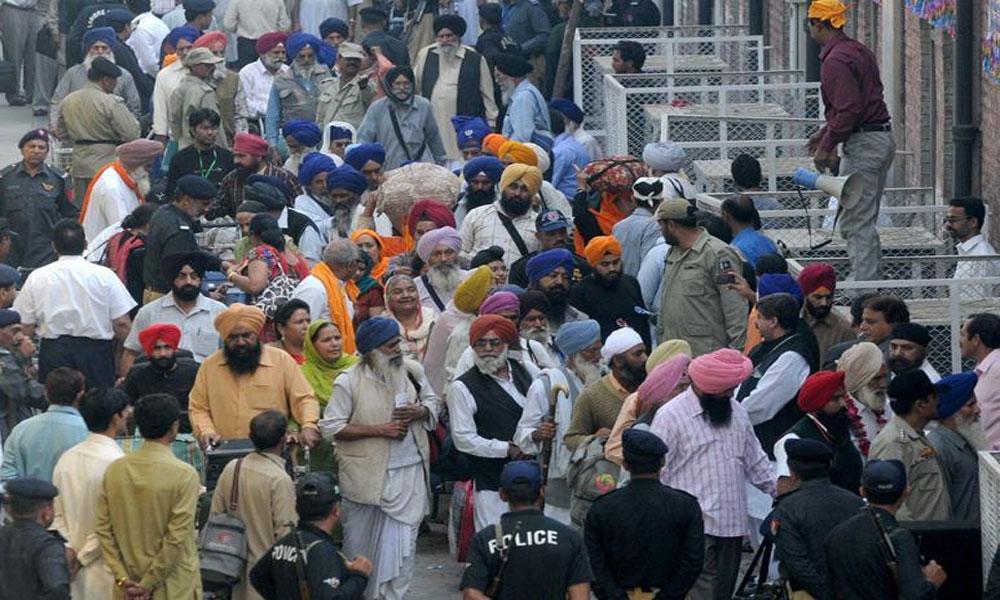 سکھ یاتریوں کی لاہور آمد