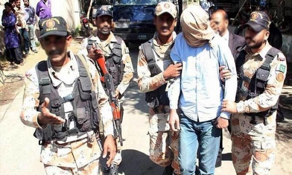 رینجرز کی کراچی میں مختلف کارروائیاں، 16 ملزمان گرفتار