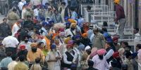 Sikh Yatri Reach Lahore