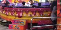 Horrifying Moment Girl Is Launched From A Moving Fairground Ride In Spain
