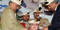 General Qamar Javed Bajwa Chief Of Army Staff Coas Visited Nli Northern Light Infantry Regimental Centre Bunji