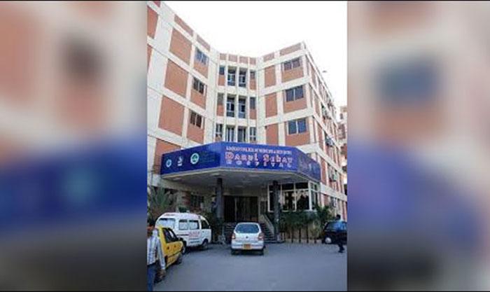 گلستان جوہر میں قائم نجی اسپتال میں آگ لگ گئی