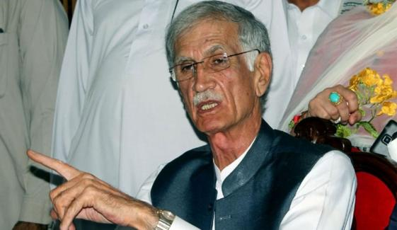 Pervez Khattak Says Imran Khan Promised Me To Make Interior Minister