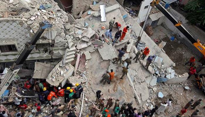 لاہور،رہائشی عمارت گرنے سے جاں بحق افرادکی تعداد6 ہوگئی