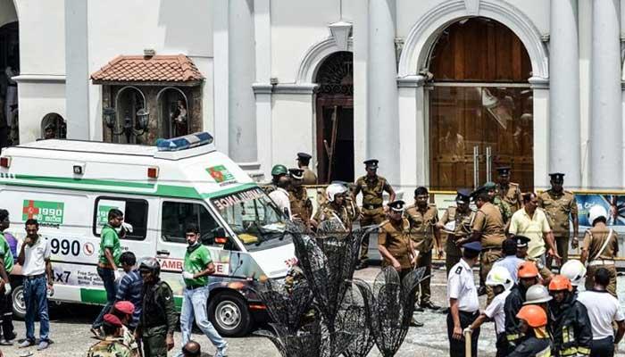 سری لنکا دھماکوں میں 200 سے زائد افراد ہلاک