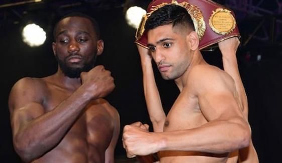 Terence Crawford Vs Amir Khan Fight