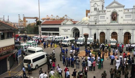 At Least 80 Injured As Blasts Hit Churches Hotels In Sri Lanka