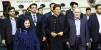 Iran Visit Pm Imran Khan Reached Tehran