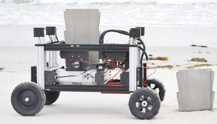 دیواریں بنانے والا روبوٹ
