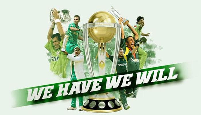 پاکستان کرکٹ ٹیم کا سلوگن مقبول ہونے لگا