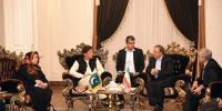 Pm Imran Khan Reaches Tehran Meets President Rouhani