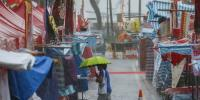 Intense Rainstorm Turns Day Into Night Across Hong Kong On Easter Weekend