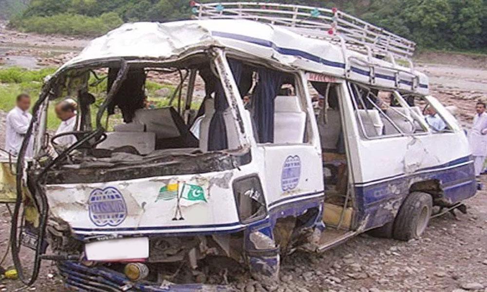 آزاد کشمیر: وین کھائی میں جا گری، 2 افراد جاں بحق