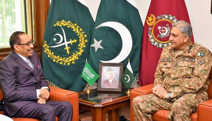 آرمی چیف سے سعودی نائب وزیر دفاع کی ملاقات