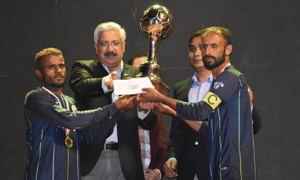 سندھ رینجرز لیاری فٹبال گالا یوسی بغدادی کے نام