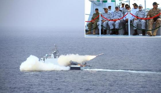 Pak Navy Missiles Fired Successfully