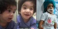 Paralyzed Infant Nashwa Buried