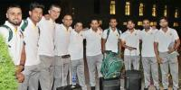Pakistan Cricket Team Leaves For England