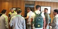 Pakistan Cricket Team Arrives In London