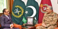 Coas Saudi Assistant Minister For Defence Discuss Regional Security
