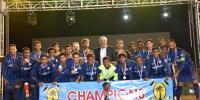 Uc Baghdadi Win Sindh Rangers Lyari Football Gala