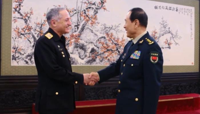 پاک بحریہ کے سربراہ کی چینی بحریہ کی تقریب میں شرکت
