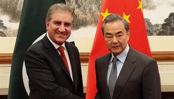 شاہ محمودقریشی کی چینی ہم منصب سے بیجنگ میں ملاقات