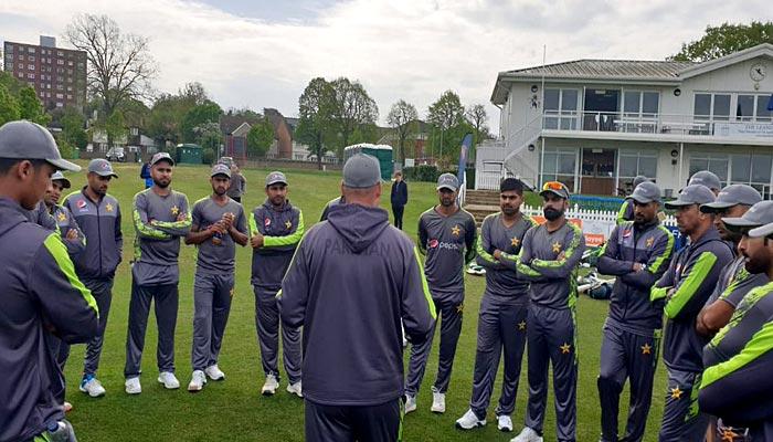 پاکستان ٹیم کا تین گھنٹے کا بھرپور ٹریننگ سیشن
