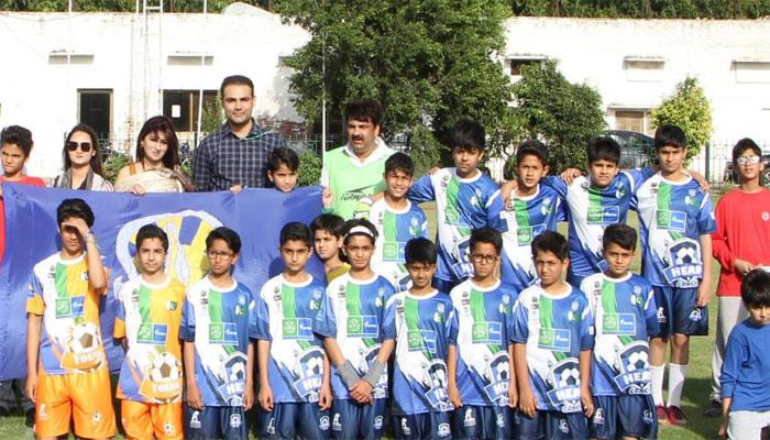 فٹبال فار فرینڈشپ کے تحت لاہور میں میچ کا انعقاد