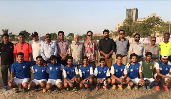 Inter University Football Tournament Spartan Club Won The Match