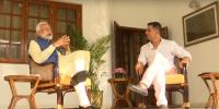 Akshay Kumar Meets Indian Pm Modi