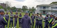 Pakistan Team Training Session At The County Ground Beckenham Kent